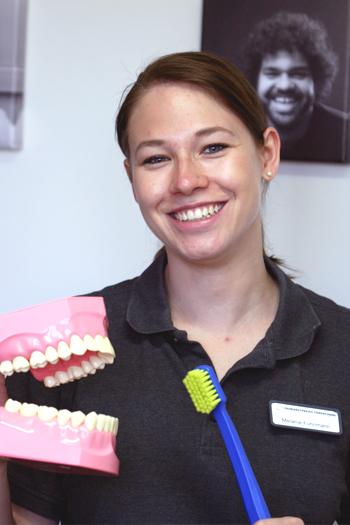 Melanie Fuhrimann, Dentalhygienikerin